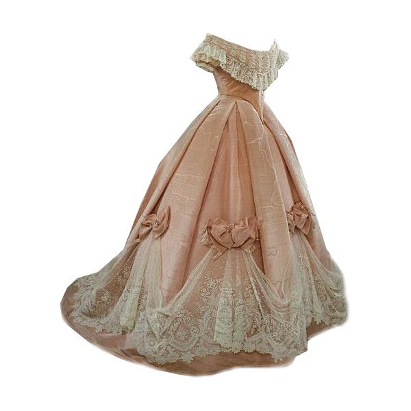 Edited by Beverly ~ 1890 Ball Gown found on Polyvore