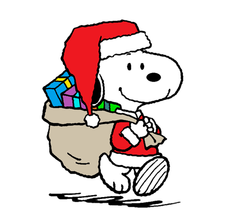 Snoopy All Ready For Christmas Snoopy Love Christmas Cartoons Snoopy Christmas