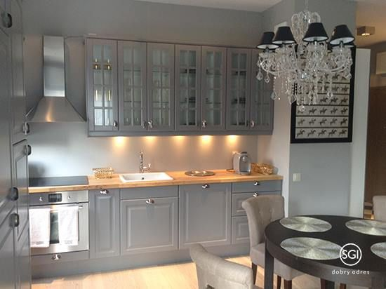 Piękna Szara Kuchnia Kuchnia Kitchen W 2019 Dekorowanie