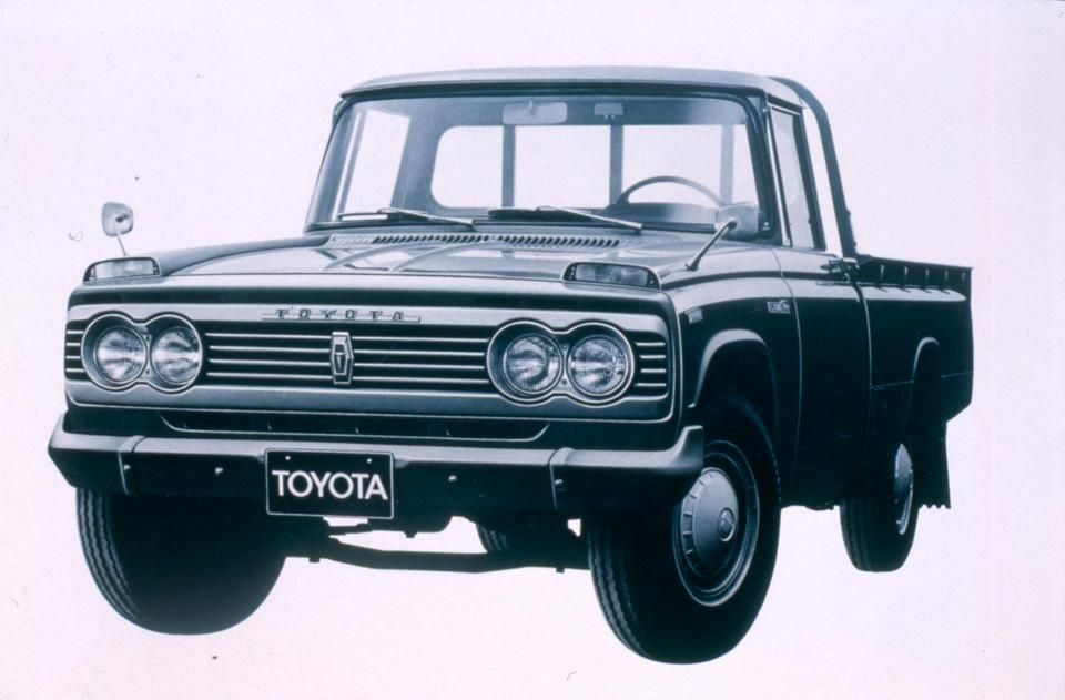 Toyota Tundra For Sale In Maine >> 1966 - Toyota trucks launch in the U.S. with the introduction of the Toyota Stout. | Toyota ...