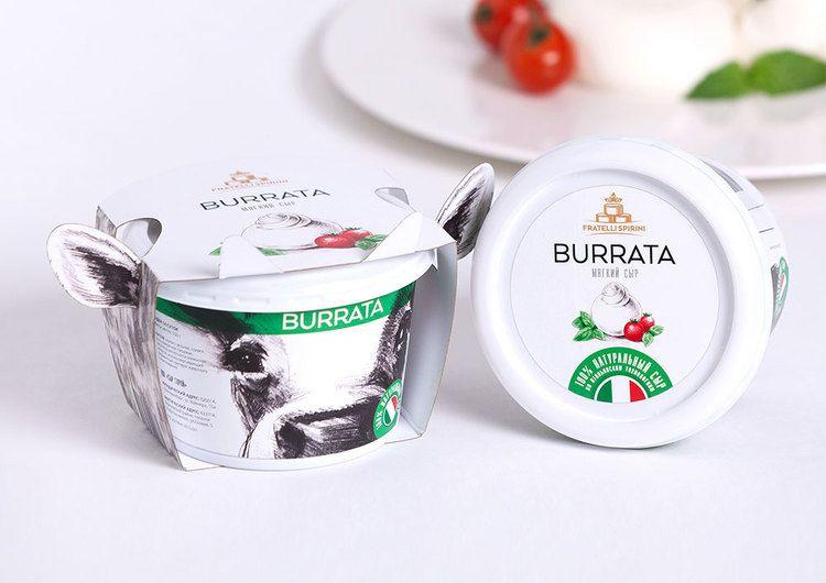 gordost  fratelli spirini soft cheese  dairy packaging