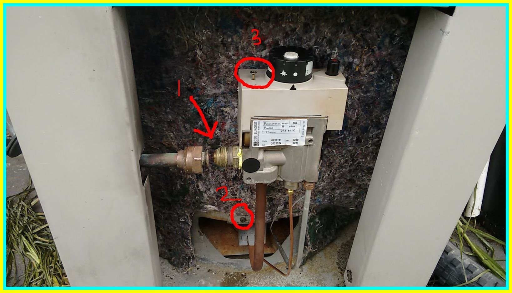 107 reference of pilot light water heater not lighting in