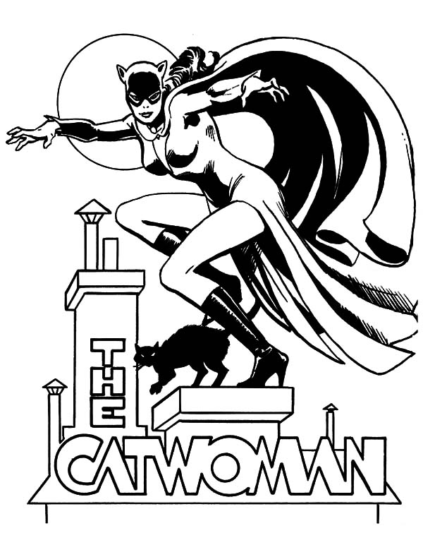 The Catwoman Coloring Pages Best Place To Color In 2020 Coloring Pages Batman Coloring Pages Catwoman