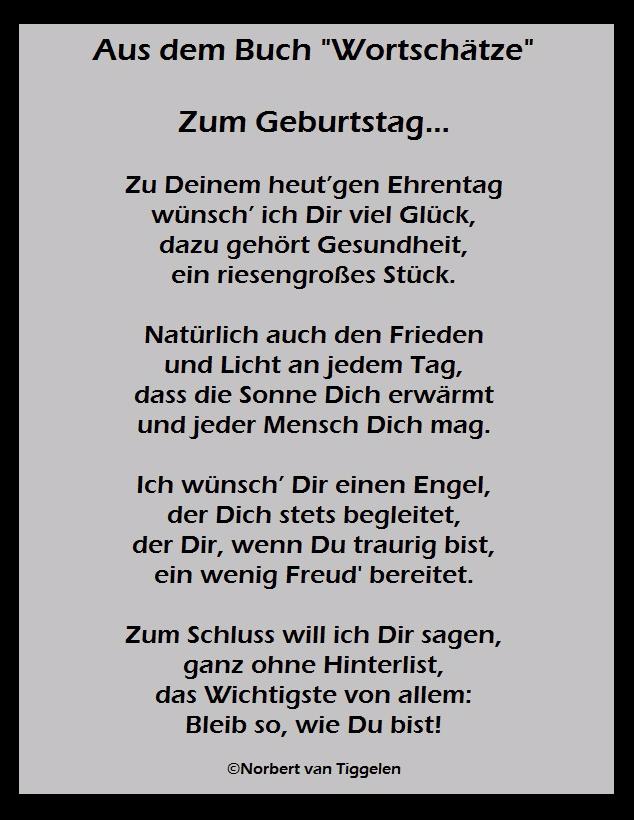 Gedichte Von Norbert Van Tiggelen Leseproben Spruche Geburtstag Lustig Gluckliche Spruche Spruche Zum Geburtstag