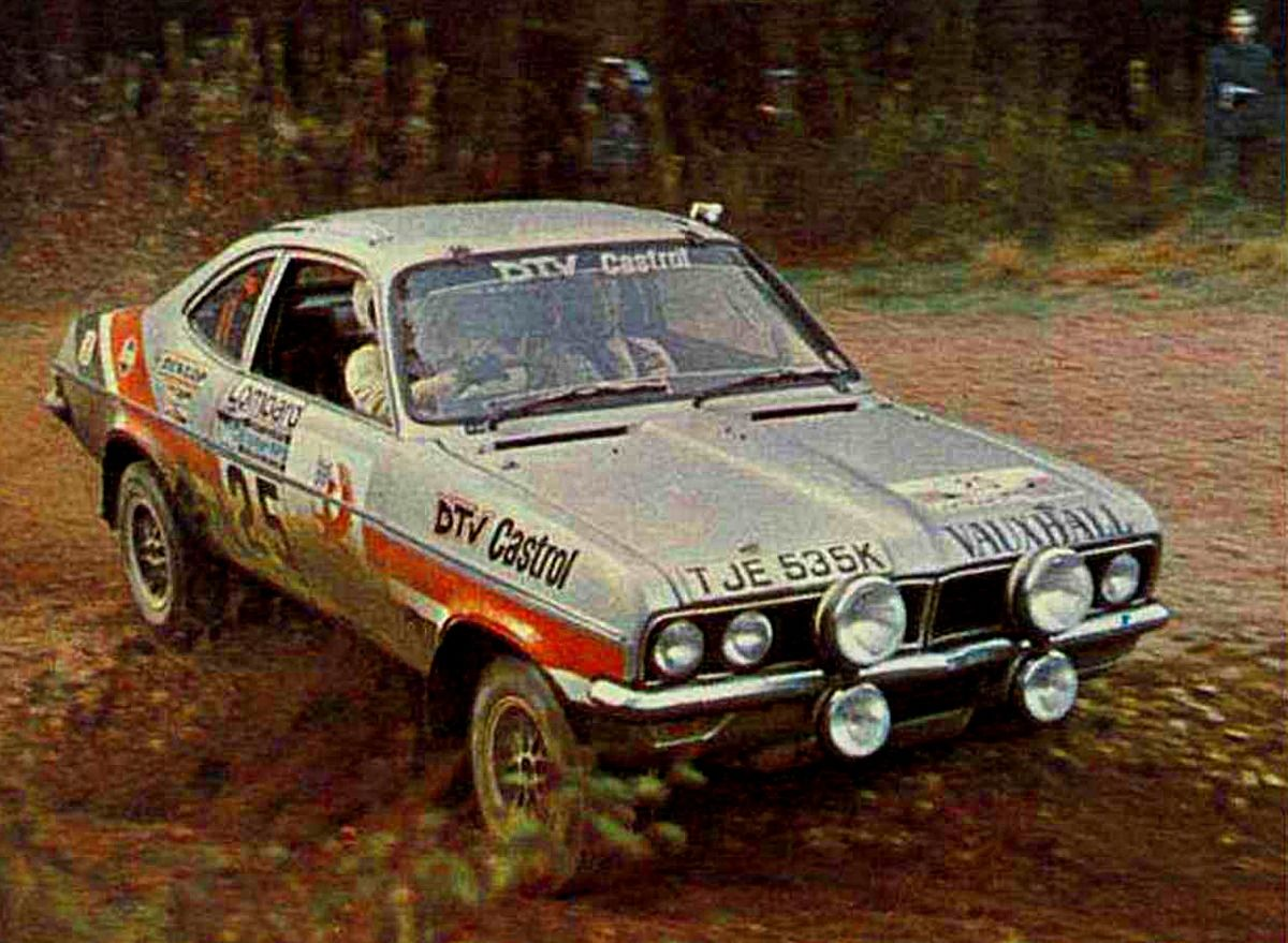 1975 RAC Rally (Sparrow Will - Crellin Ron) Vauxhall Magnum Coupé ...