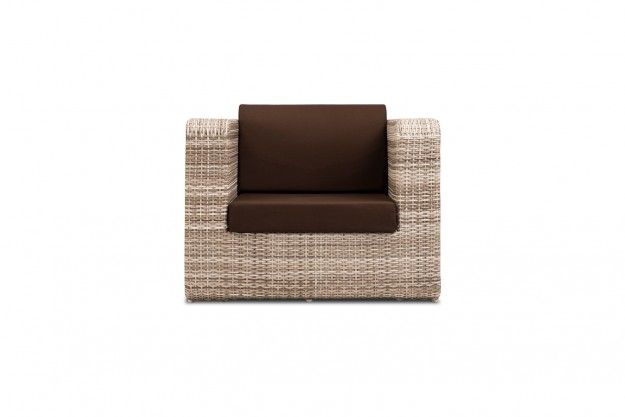 Mediterrian 1 Seater Sofa Constructed For Weather