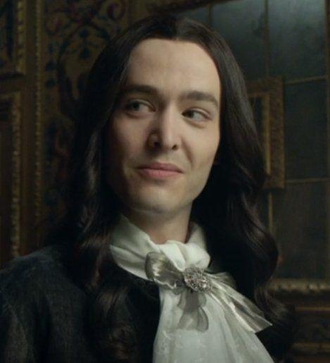 The brilliant Alexander Vlahos as Monsieur Philippe Duc D'Orleans in season 3 of the hit canal+ series Versailles