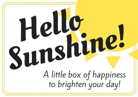 Free sunshine box tag download