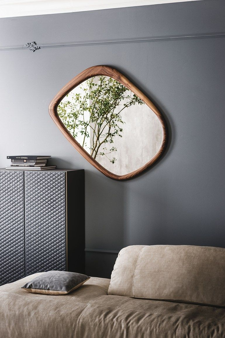 Wall-mounted framed mirror JANEIRO by Cattelan Italia | Mirrors ...