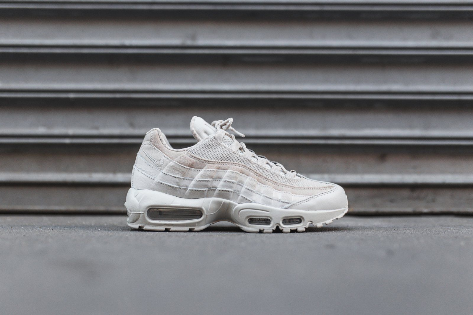 Donna Wmns Air Max 95 Prm CanteenCanteen Light Bone Black | Sneakers Nike