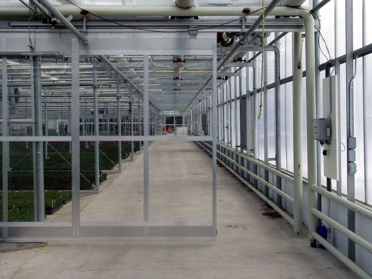 Greenhouse Doors | Greenhouse Sliding Doors | Westbrook Greenhouse Systems & Greenhouse Doors | Greenhouse Sliding Doors | Westbrook Greenhouse ...