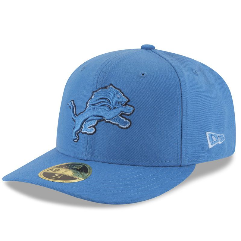 45395aa54d135 ... detroit lions new era total team tonal low profile 59fifity fitted hat  blue ...