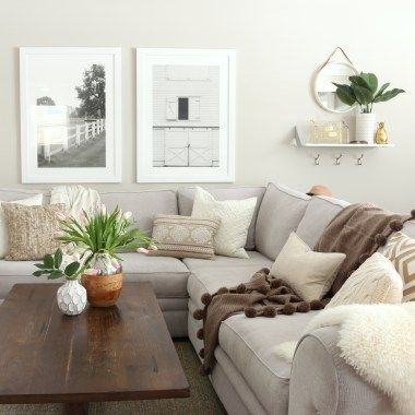 Small House Home Tour of a Small Ranch Room pictures, Room and