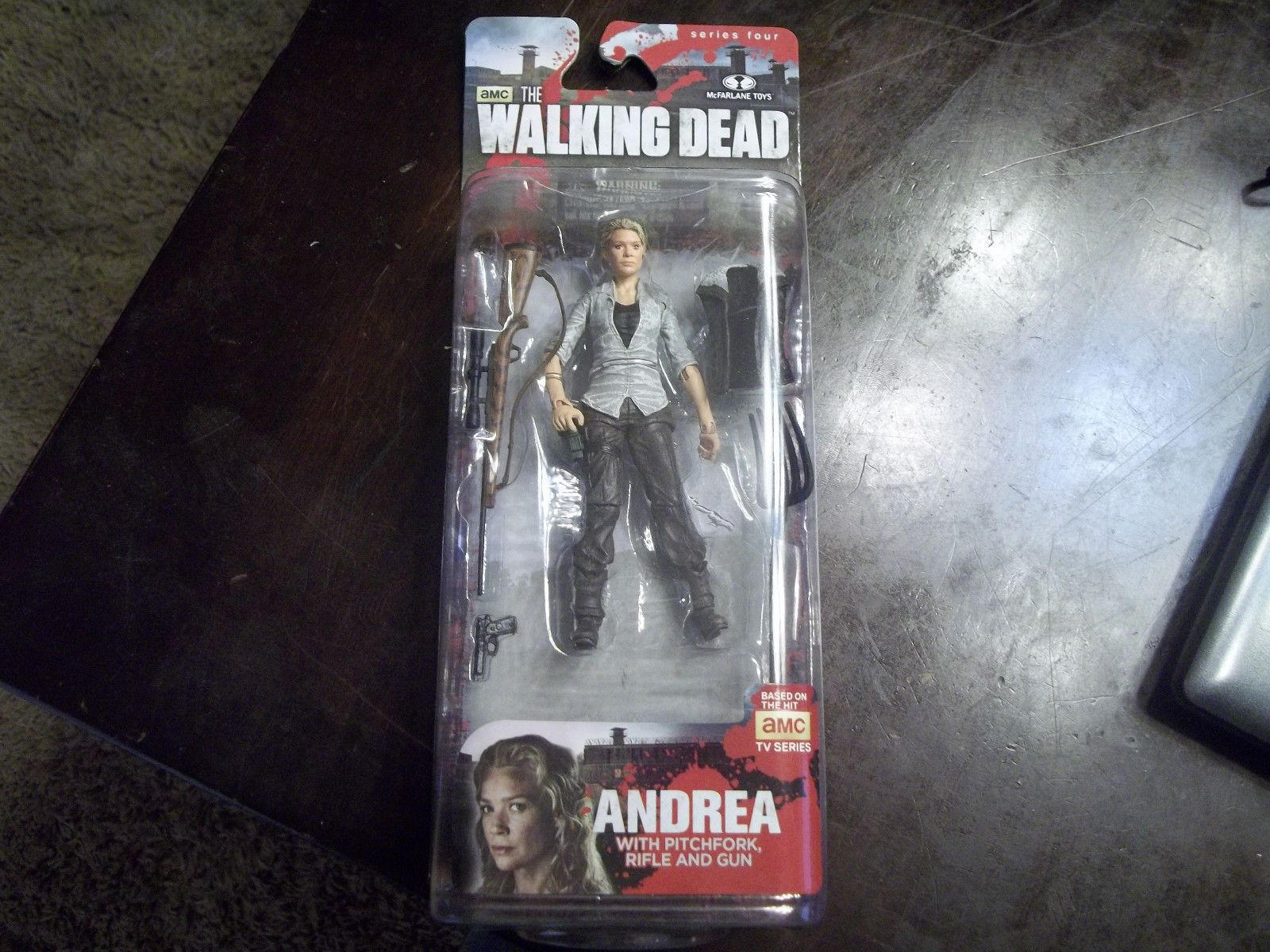 AMC The Walking Dead Andrea Action Figure Series 4 NIP McFarlane