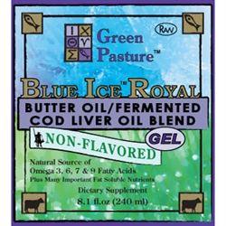 Green Pasture Blue Ice Royal gel uden smag