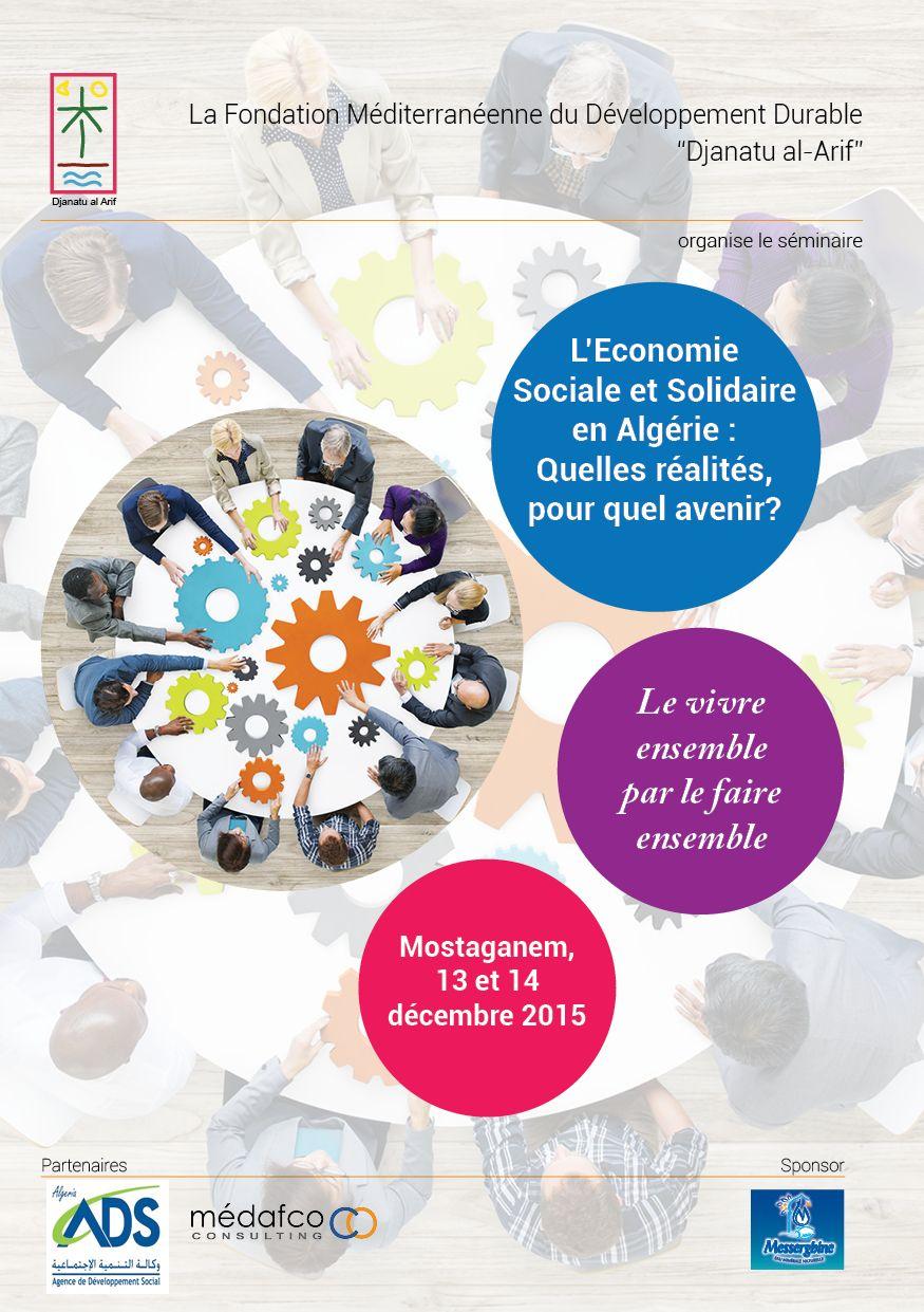 L Economie Sociale Et Solidaire En Algerie Djanatu Al Arif Slogan