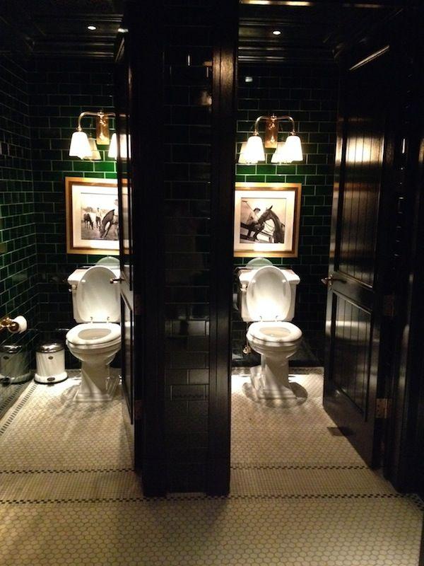 Food Nyc S The Polo Bar Restaurant Bathroom Restroom Design Bar Design Restaurant