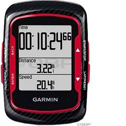 Garmin Edge 500 Cycling Computer Bundle Black Red Garmin