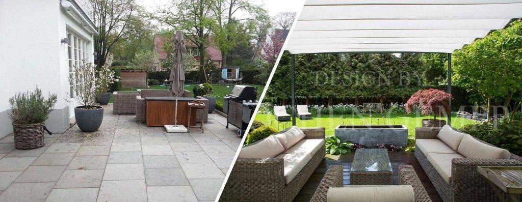 Gartengestaltungen vorher nachher | Pinterest | Gartenplanung ...