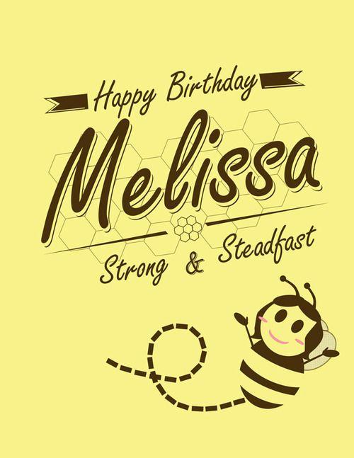 Happy Birthday Melissa Melissa Hester Happy Birthday Melissa