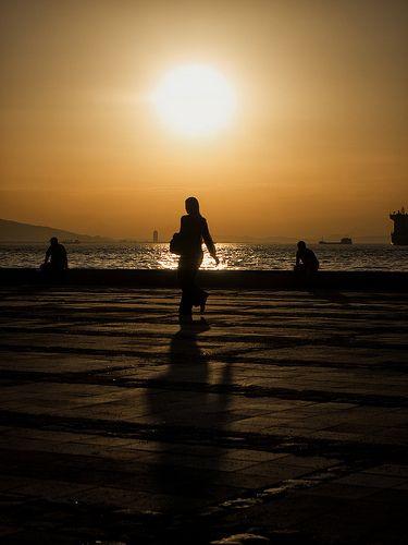 Atardecer. Izmir, Turquía