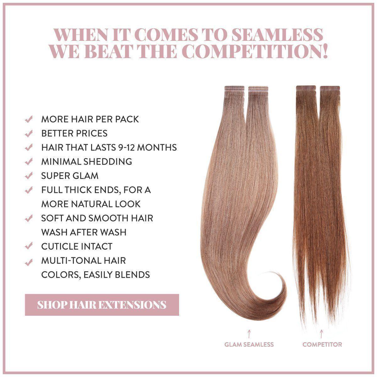 Get Premium Tape In Hair Extensions That Last U Tape In Hair