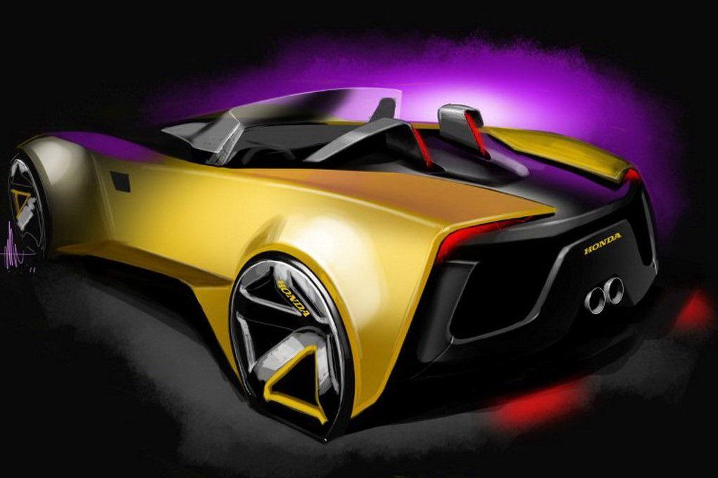 2020 Honda S2000 Concept | Honda s2000, New honda, Honda