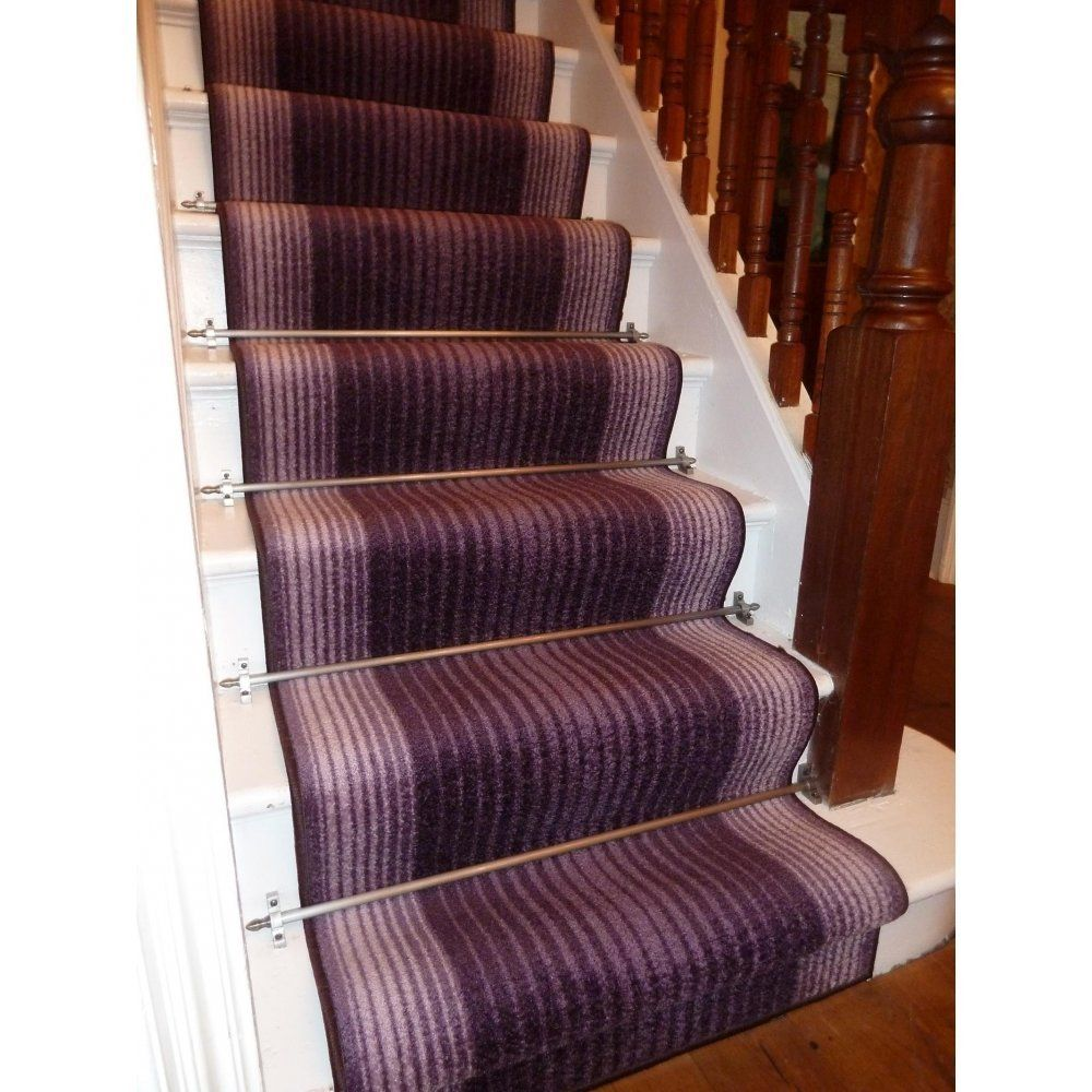 Capitol Purple Long Hall Stair Carpet Runner Amazon Co Uk   Carpet For Stairs Amazon   Beige   Non Slip   Flooring   Self Adhesive   Carpet Tiles