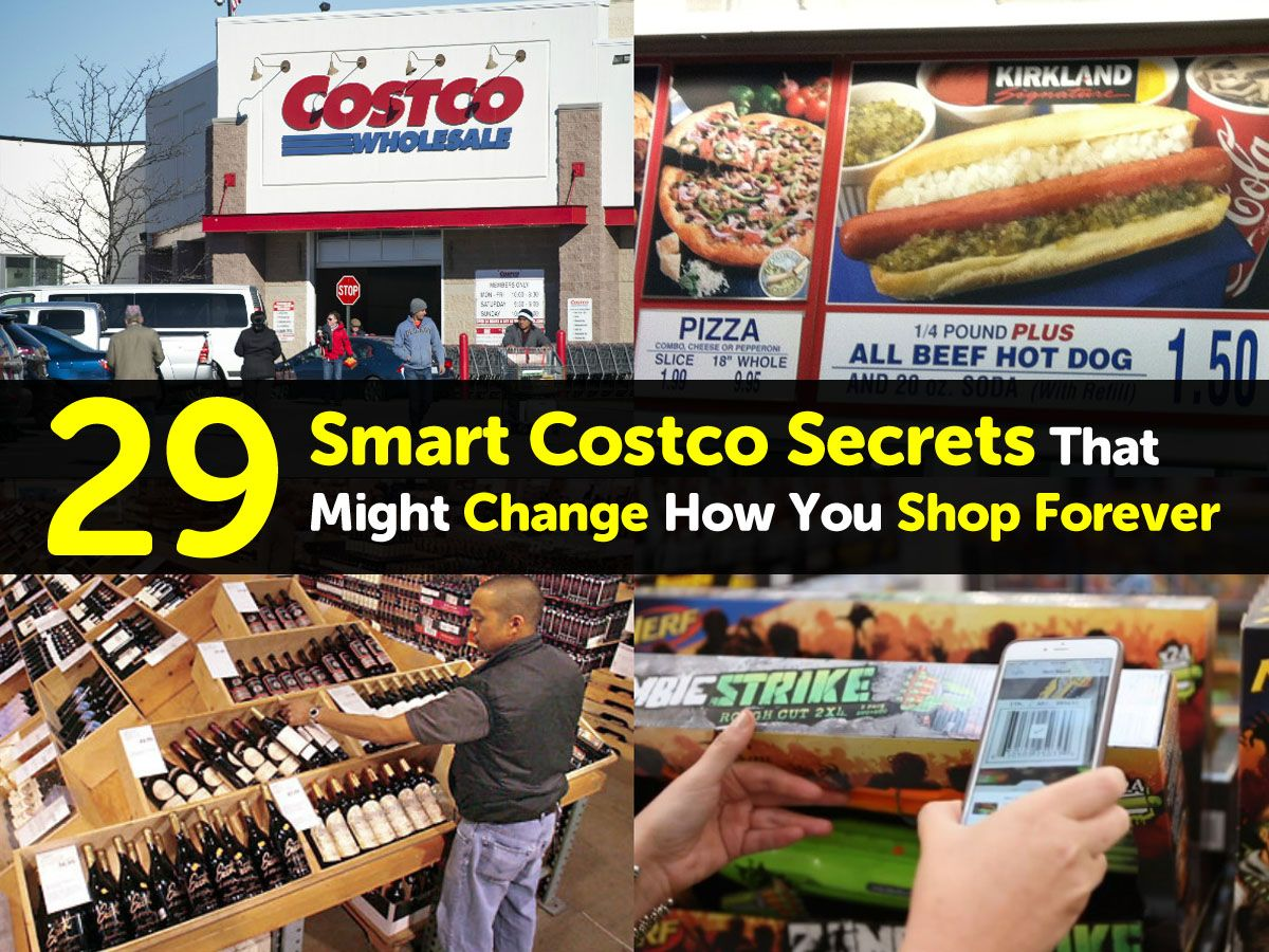 29 smart costco secrets that might change how you shop forever costco shop forever beef hot dogs pinterest