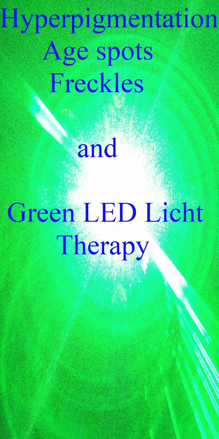 What Can Green LED Light Do For Your Skin? The Green Light Energy Lightens  And Fades Overpigmentation, Age Spots, Freckles, And Protects It From  Future ...