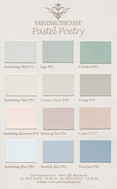 elles heart color charts painting the past pastel poetry color pinterest farben. Black Bedroom Furniture Sets. Home Design Ideas