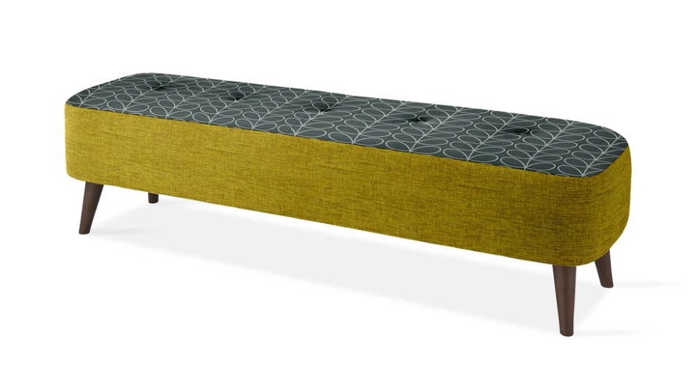 Donegal Large Footstool Linear Stem Combo In 2020 Large