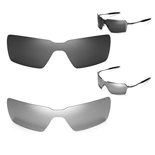f205a1c1f2 New Walleva Polarized Titanium + Black Lenses For Oakley Probation ...