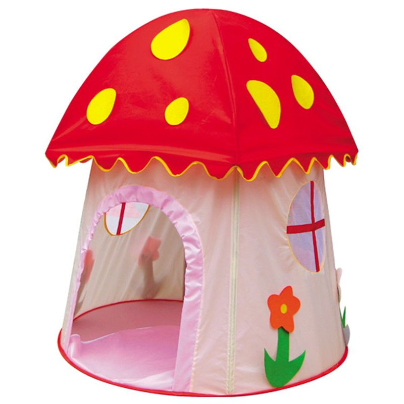 Absolute Children Cute Mushroom Child Tent Outdoor - Indoor Play Game Beach Tent Children for Birthday Gift  sc 1 st  Pinterest & Find More Information about 2016 New Beautiful Pink Mushroom ...