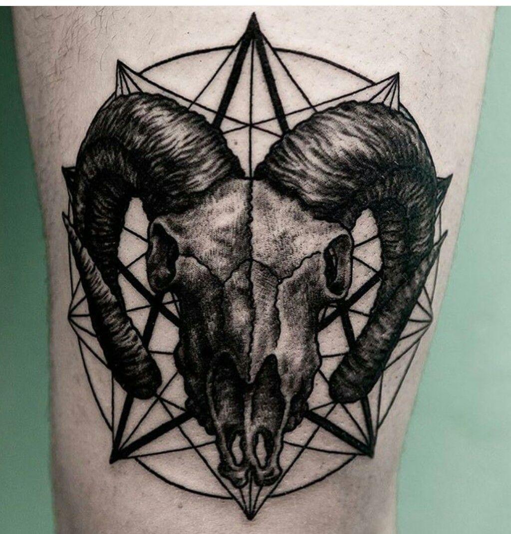 Pin by Omar Mercado on Tattoos Aries tattoo, Ram tattoo