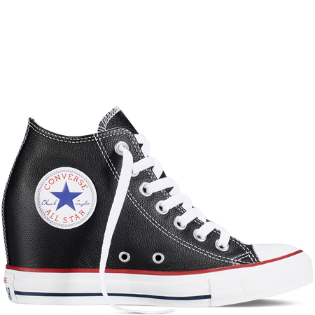 Converse - Chuck Taylor All Star Lux Wedge - Black - Mid | Schuhe ...