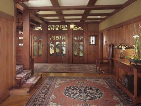 The Gamble House one of the masterpieces of Arts and Crafts style