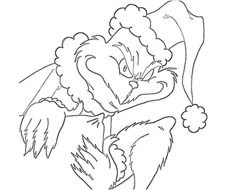How The Grinch Stole Christmas Coloring Pages AZ