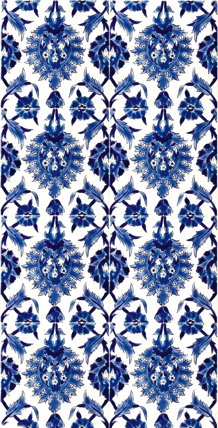 Iphone Wallpaper China Blue Floral Blue And White China Blue China Blue And White