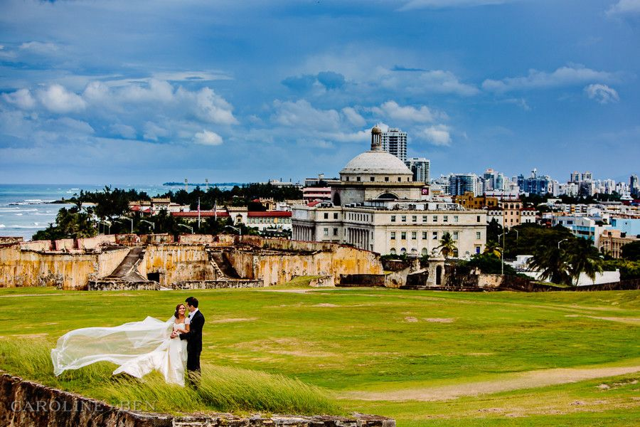 Puerto Rico Wedding Photography At Fort San Cristobal