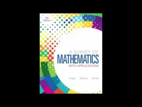 Edition applications 9th of survey pdf with mathematics a