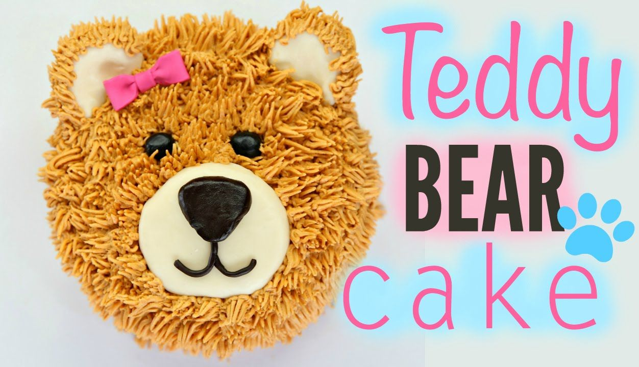 Teddy Bear Cake Decorating - CAKE STYLE