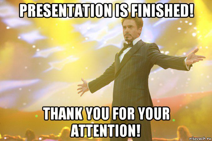 Thank You For Your Attention Presentation Humour Rire Drole