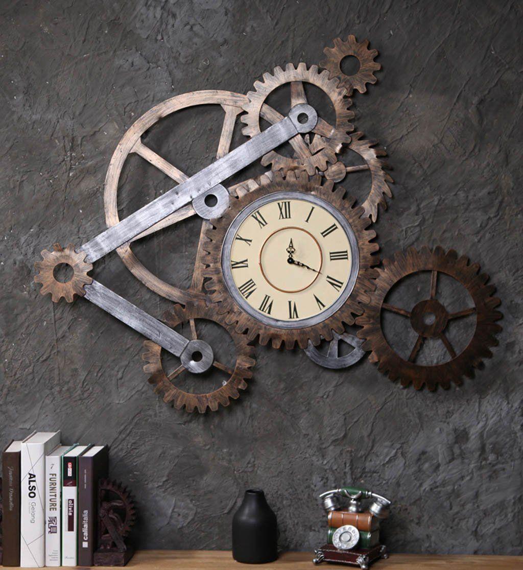 Industrial Style Wall Clock Industrie Wanduhr Wall Clock Clock Clock Wall Decor