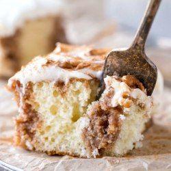 Cinnamon Roll Poke Cake #cinnamonrollpokecake White cake with buttery cinnamon sugar filling and cream cheese frosting #cinnamonrollpokecake Cinnamon Roll Poke Cake #cinnamonrollpokecake White cake with buttery cinnamon sugar filling and cream cheese frosting #cinnamonrollpokecake