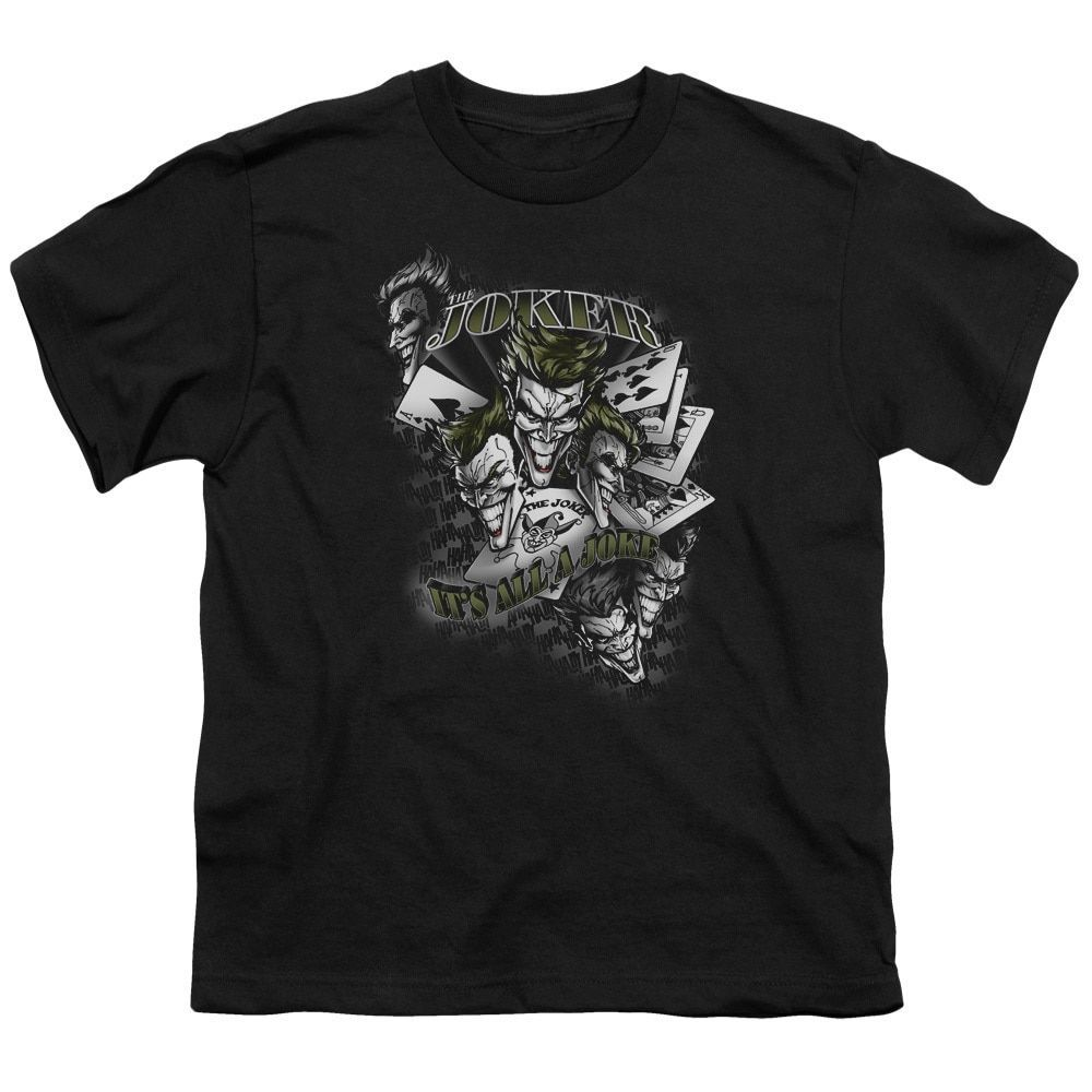 Batmanits all a joke short sleeve youth in products