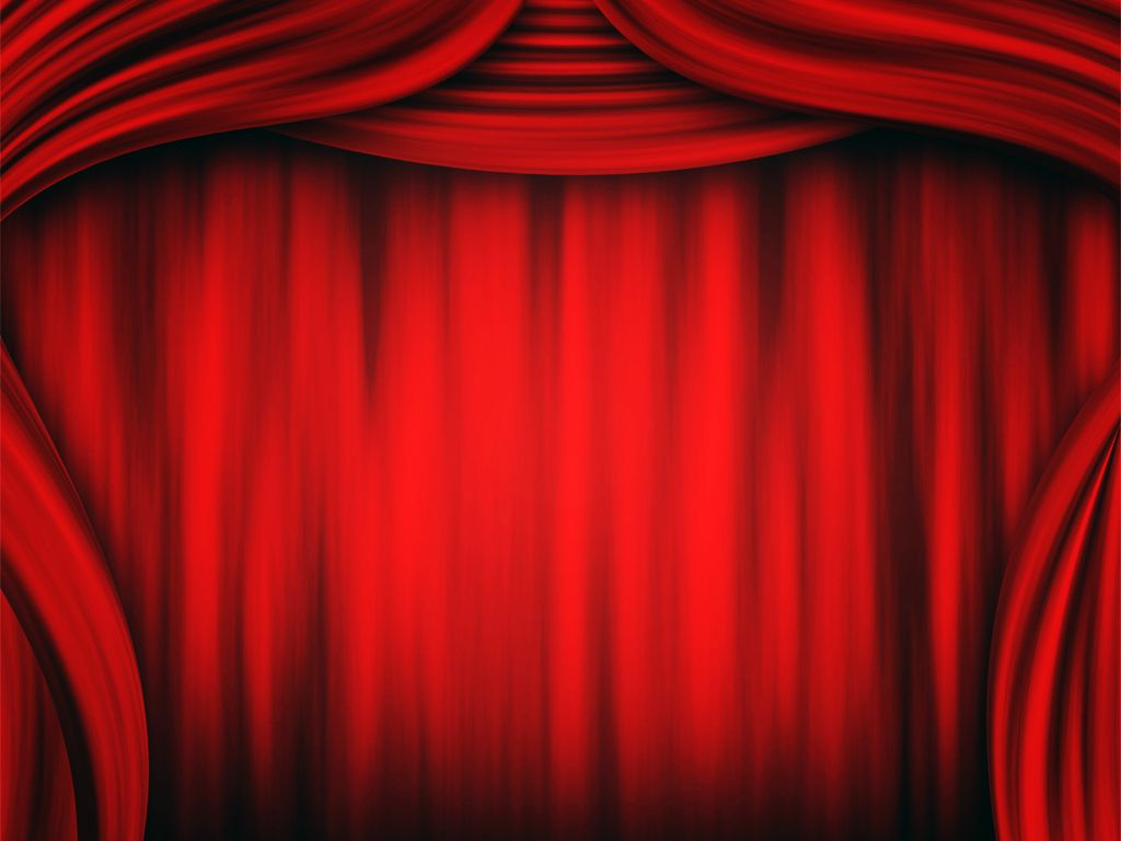 Theater Curtain Wallpapers Ppt Backgrounds