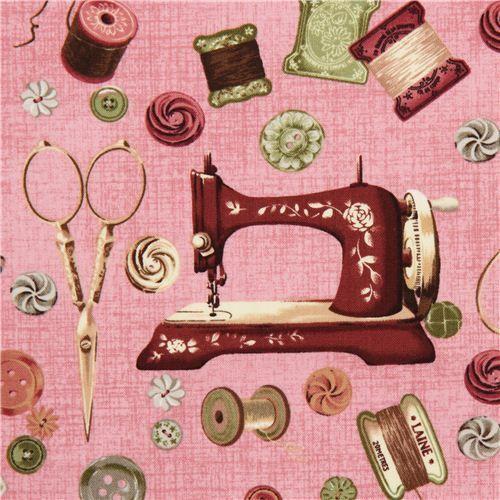 objetos de costura con maquina de coser