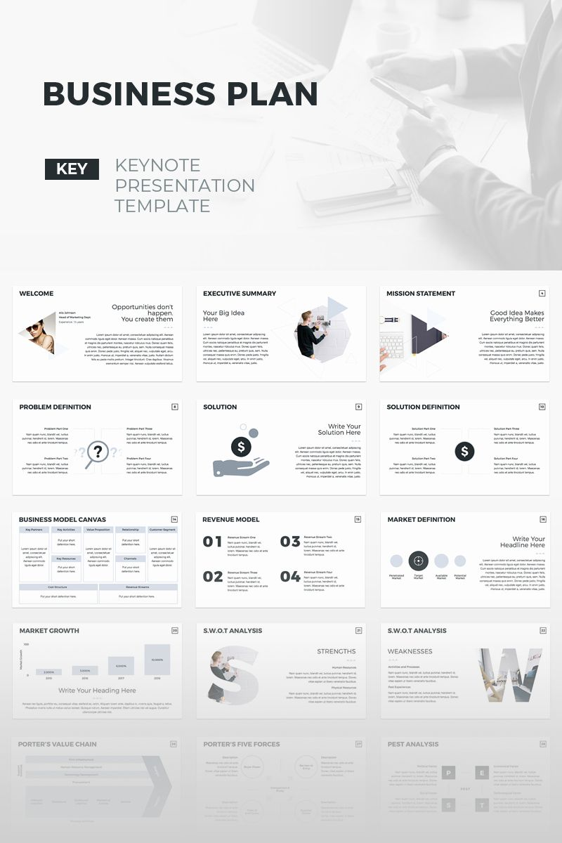 30 Creative Business Plan Template in 2020 Business plan