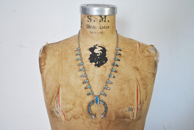 1970s NAVAJO Faux Turquoise Pendant Necklace / BOLD pendant Boho by badbabyvintage on Etsy https://www.etsy.com/listing/461957102/1970s-navajo-faux-turquoise-pendant